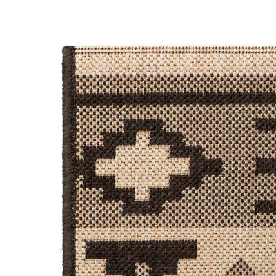 vidaXL Matta sisallook etnisk design 140x200 cm