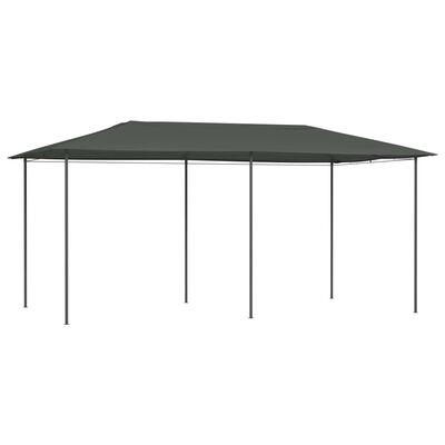 vidaXL Paviljong 3x6x2,6 m antracit 160 g/m²