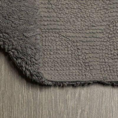 Sealskin Badrumsmatta Pebbles bomull 60x90 cm grå