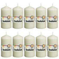 Bolsius Blockljus 10 st 120x58 mm elfenben
