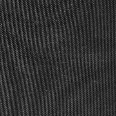 vidaXL Solsegel Oxfordtyg kvadratiskt 3,6x3,6 m antracit