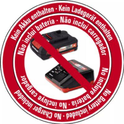 Einhell Sladdlös mutterdragare TE-CW 18 Li BL-solo röd 4510040,