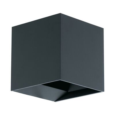 EGLO Utomhusvägglampa LED Calpino 2x3,3W antracit