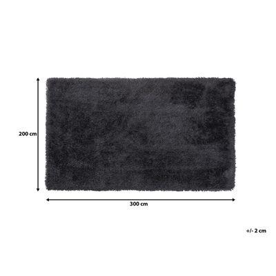 Matta 200 x 300 cm svart CIDE