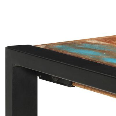 vidaXL Barbord 140x70x110 cm massivt återvunnet trä