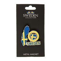 Magnet Souvenir Spinner Sköld