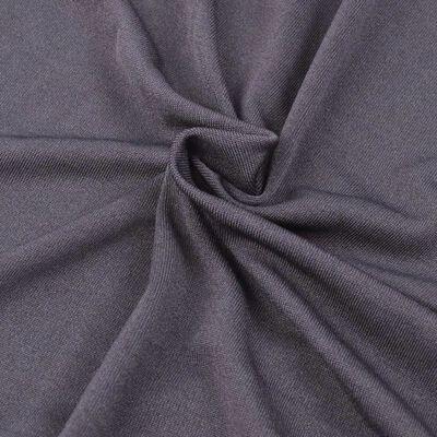 vidaXL Sofföverdrag med stretch antracit polyesterjersey
