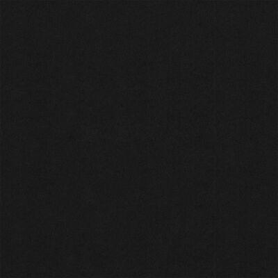 vidaXL Balkongskärm svart 120x500 cm oxfordtyg