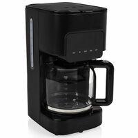 Princess Kaffebryggare Deluxe Black Steel 1,5 L 900W svart
