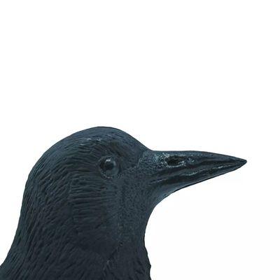 Ubbink Djurfigur kråka svart 27 cm 1382523