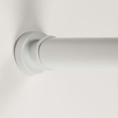 Sealskin Teleskopisk duschdraperistång 80-130 cm vit