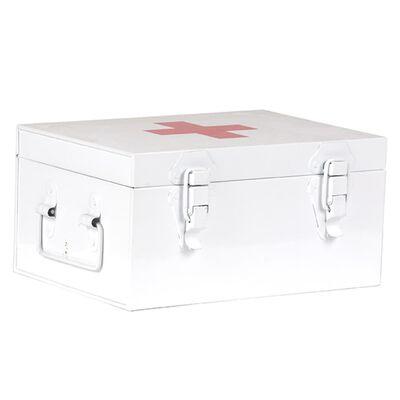 LABEL51 Första hjälpen-låda 26x18x13 cm vit