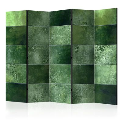 Rumsavdelare - Green Puzzle Ii   - 225x172 Cm