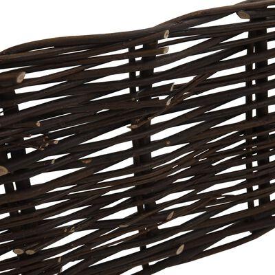vidaXL Pilstaket 10 st 120 x 35 cm