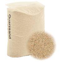 vidaXL Filtersand 25 kg 0,4-0,8 mm
