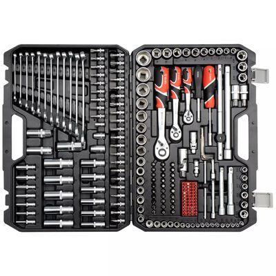 YATO Spärrhandtag för hylsnyckelsats 216 delar YT-38841