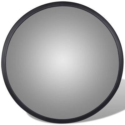 vidaXL Konvex trafikspegel för inomhusbruk akryl 30 cm svart