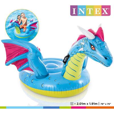 Intex Uppblåsbar drake 201x191 cm