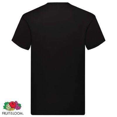 Fruit of the Loom Original T-shirt 10-pack svart stl. M bomull