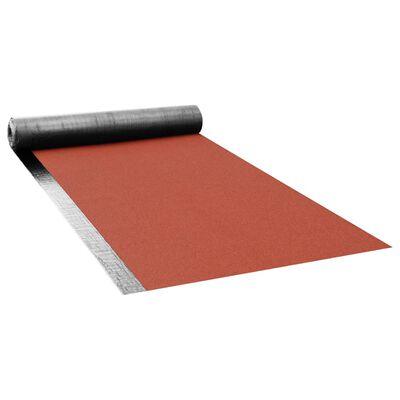 vidaXL Ytpapp v60 S4 bitumenbelagd 1 rulle 5 ㎡ röd