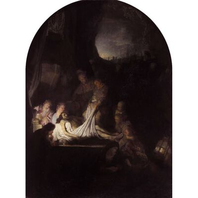The Descent from the,REMBRANDT Harmenszoon van Rijn 02