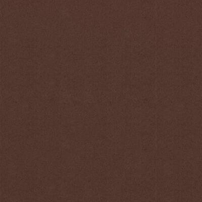 vidaXL Balkongskärm brun 75x600 cm oxfordtyg