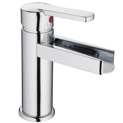 SCHÜTTE Tvättställsblandare med vattenfall NIAGARA