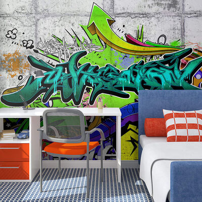 Fototapet - Colours Of A City - 100x70 Cm