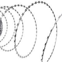 Rakbladstråd galvaniserat stål 60m