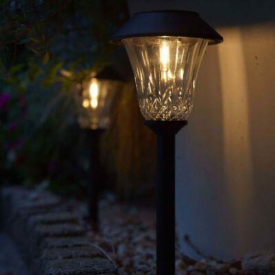 Luxform Trädgårdsbelysning solcell LED Tropez komplett set 3 st