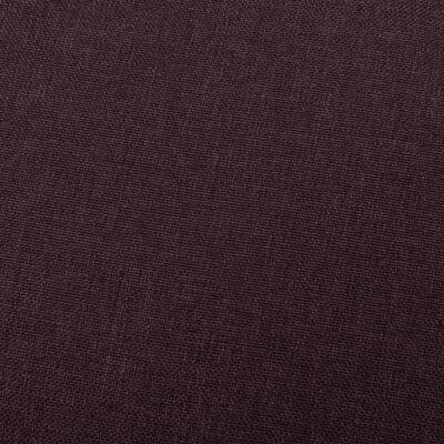vidaXL Reclinerfåtölj lila tyg
