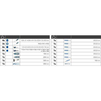 BRILLIANT TOOLS Universell verktygssats 36 delar
