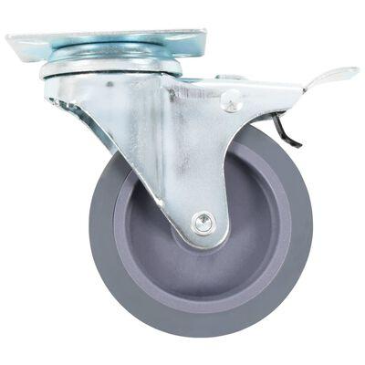vidaXL Länkhjul 12 st 75 mm