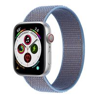 Apple Watch 5 (44mm) Nylon Armband - Cerulean