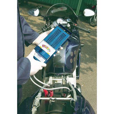 Draper Tools Batteritestare 100 Amp blå
