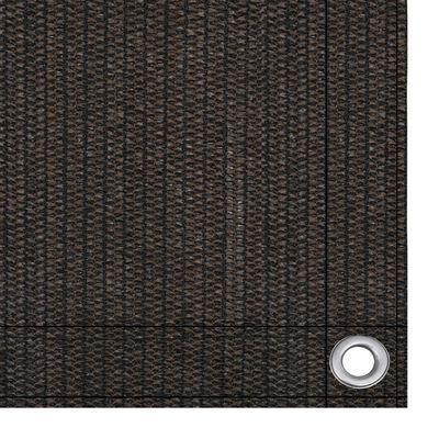 vidaXL Tältmatta 400x600 cm brun
