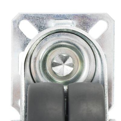vidaXL Dubbelhjul 12 st 50 mm