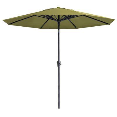 Madison Parasoll Paros 300 cm salviagrön