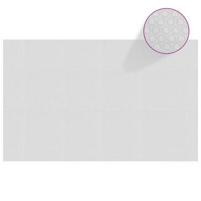 vidaXL Värmeduk för pool PE 800x500 cm grå