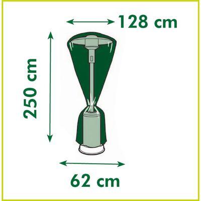vidaXL Överdrag till terrassvärmare 250x128x62 cm