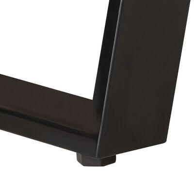 vidaXL Soffbord 90x50x40 cm massivt akaciaträ med levande kant