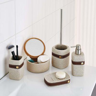 RIDDER Toalettborste med hållare Superior beige