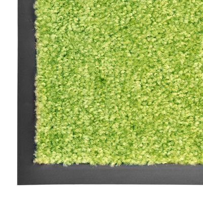 vidaXL Dörrmatta tvättbar grön 120x180 cm