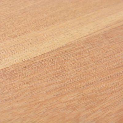vidaXL Matbord askträ 180x90x76 cm