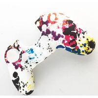 Playstation 4 / PS4 Silikon skal Kamouflage Vit
