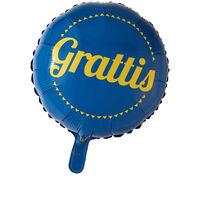 Folieballong Grattis