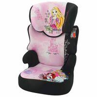 Disney Bilbarnstol Befix Princess grupp 2+3 rosa