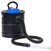 vidaXL Asksug med HEPA-filter 1200 W 20 L stål