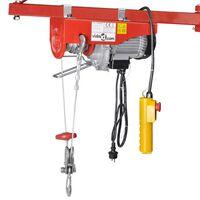 vidaXL Elektrisk vinsch 1000 W 200/400 kg