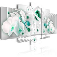 Tavla - Turquoise Dance - 200x100 Cm